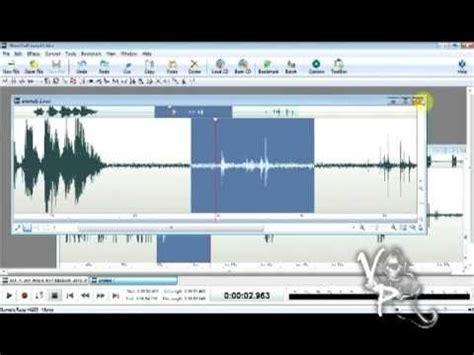 tutorial wavepad analyze your evp w software http www nch com au wavepad