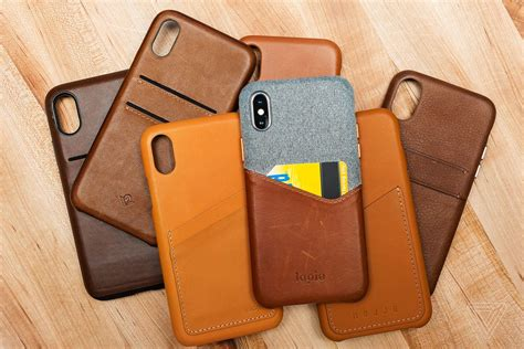 best x finding the best leather for the iphone x the verge