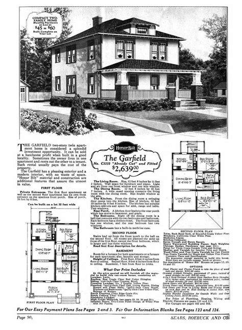 modern home 264b110 farmhouse style 1916 sears house plans sears house the garfield model no p3232 2 599 to