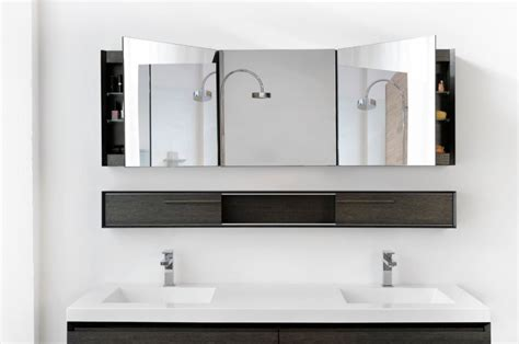 bathroom mirrors contemporary bathroom tricks the right mirror for your bathroom may do