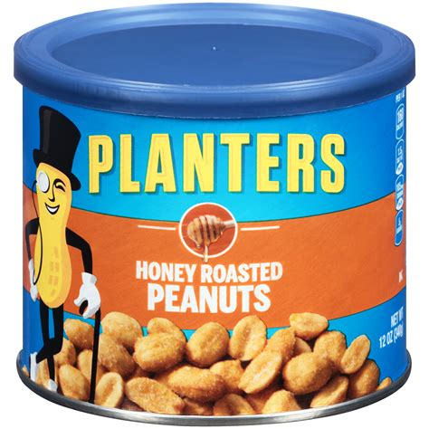 Planters Nut by Planters Peanuts Honey Roasted 12 Ounce Tub
