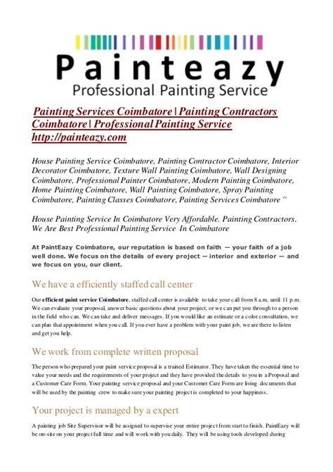 painting contract template painting services coimbatore painting contractors