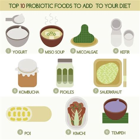 food with probiotics what are probiotics