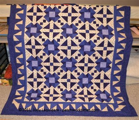 Indigo Quilt by Electric Indigo Quilt Pattern Favequilts