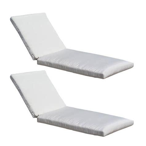 replacement chaise cushions sunbrella sunbrella chaise lounge cushion 2 pack