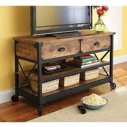 country tv stands better homes and gardens rustic country tv stand with