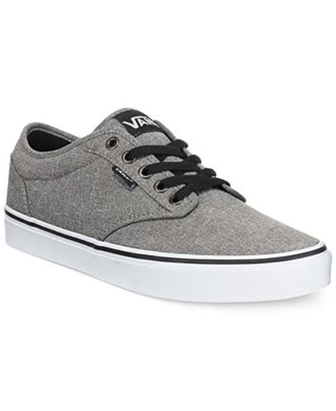 macys mens sneakers vans s atwood heathered sneakers shoes macy s