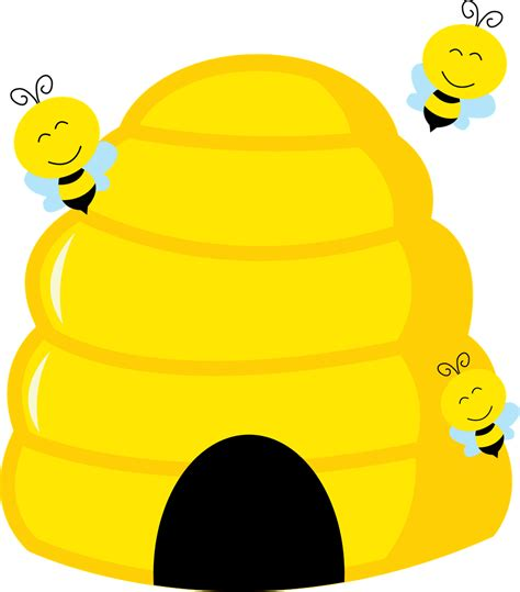 bee hive clip bee clipart beehive pencil and in color bee clipart beehive