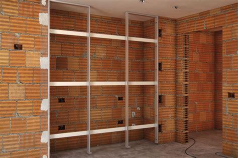 struttura armadio a muro sistemi raso parete teco sistemi casa sicilia