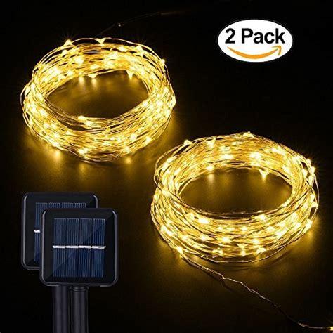 Best Solar String Lights Best Outdoor Solar Powered String Lights 2017 Top