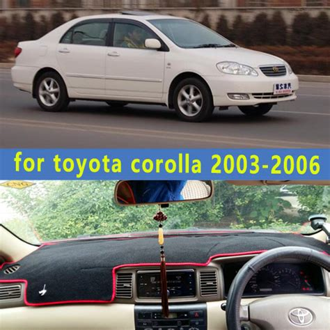 Car Asesoris Cover Dashboard Toyota All New Corolla Karpet Dashboard dashmats car styling accessories dashboard cover for toyota corolla 2003 2004 2005 2006 in seat