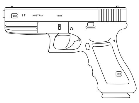 9mm Drawing by Glock 18 By Lemmonade On Deviantart