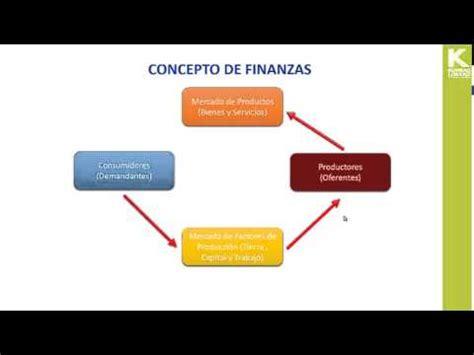 conceptos de finanzas ii 1 concepto de finanzas youtube