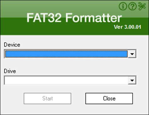 format exfat download verbatim fat32 tool
