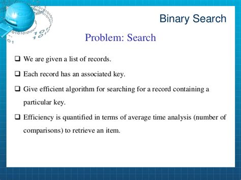 Worst Binary Search Sort And Binary Search