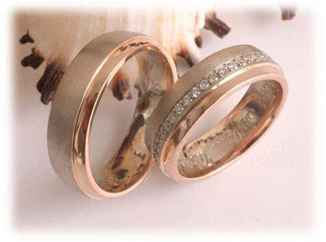 Eheringe Rotgold Matt by Trauringe Eheringe Im318 Ca 41 Diamanten Brillantkranz