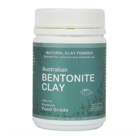 Benzonite Clay For Detox by Bentonite Clay Edible Nourishing Hub
