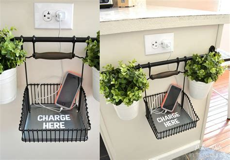 ikea hack charging station awesome ikea hack of the week a convenient and cute phone