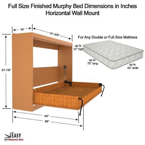 murphy bed horizontal horizontal full murphy bed google search cabin