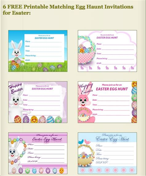 printable easter birthday cards free printable easter egg hunt invitations at my free
