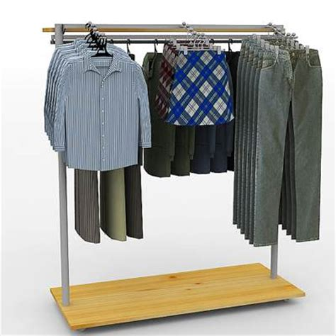 Clothes Display Rack by 3d Model Clothes Display Rack 29 95 Buy
