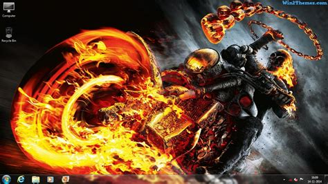 download theme windows 7 ghost rider ghost rider theme for windows 7 8 and 10 win2themes