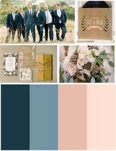navy blue wedding color schemes colour scheme navy blue and blush wedding