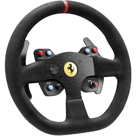 thrustmaster wheel thrustmaster 599xx evo 30 wheel add on alcantara edition