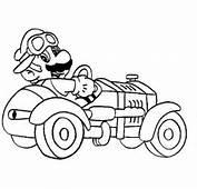 Super Mario Tegninger Til Fargelegging For Barn Bilder Figurer