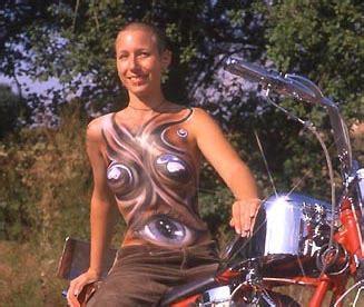 Motorrad Lackieren Erlaubt by Motorrad Tipps Quot Airbrush Kunst Quot Von Winni Scheibe