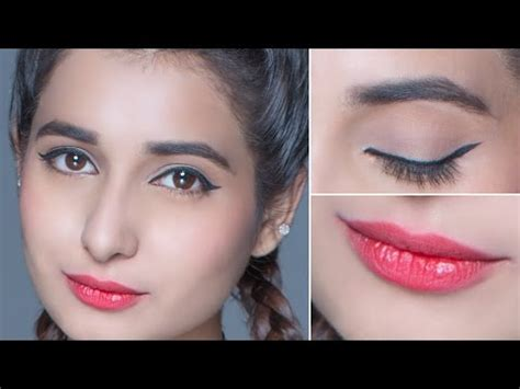 eyeliner tutorial glamrs everyday college makeup tutorial easy and affordable