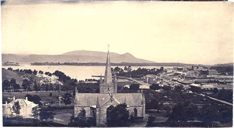 Port Arthur Social Security Office by Photograph Of Port Arthur Church And Penitentiary C 1880