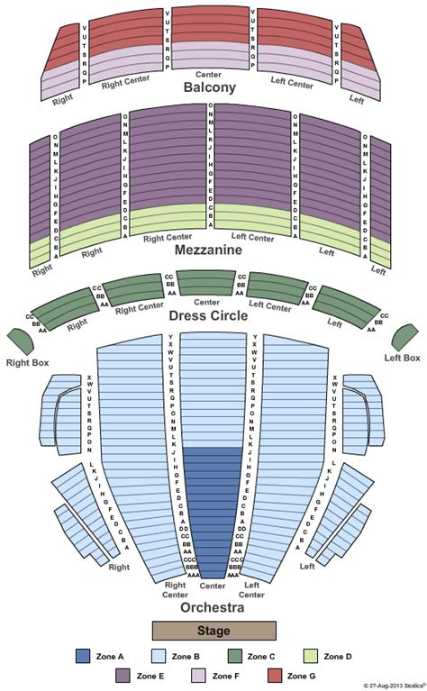 Dream Theater Boston Opera House Tickets Dream Theater Boston Opera House Seating Plan