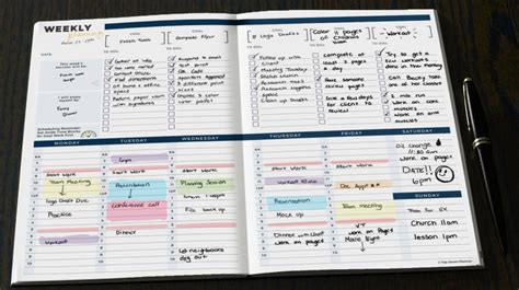 top ten planner posts of time management tools weekly planners core77