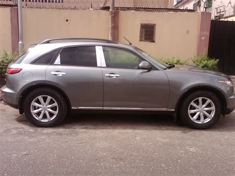nissan infiniti fx35 price an extremly clean naija used 2007 nissan infinity fx35 for