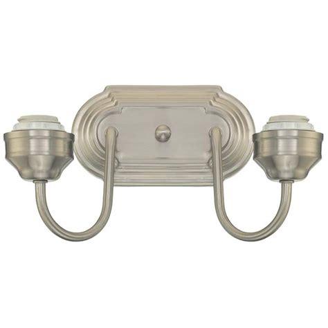 Light Fixture Screws Westinghouse 63005 2 Light Medium Base 11 Quot Brushed Nickel Finish Wall Light Fixture