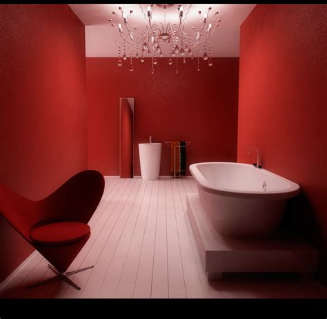 dark red bathroom inspiring bathroom designs for the soul