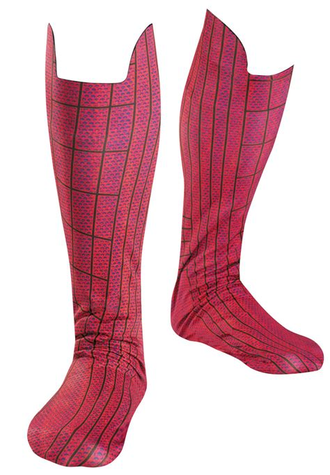 Aranha Boots the amazing spider boot covers costume accessory