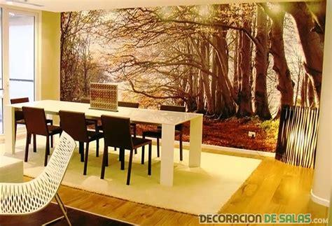decoracion paredes sala comedor
