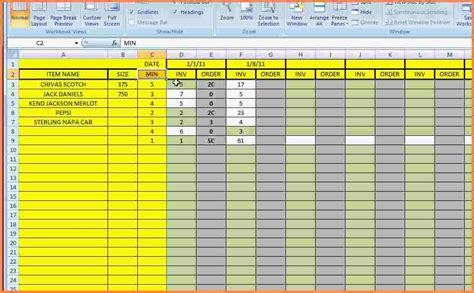 5 Supply Inventory Spreadsheet Template Excel Spreadsheets Group Inventory Sheet Template Excel