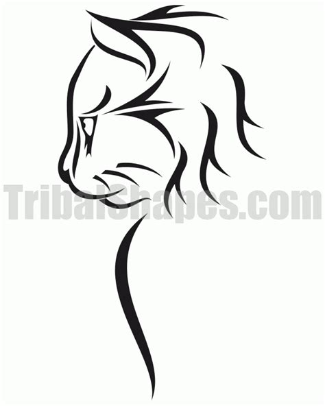 cat tribal tattoo designs cats designs