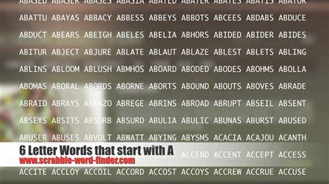 6 Letter S Words