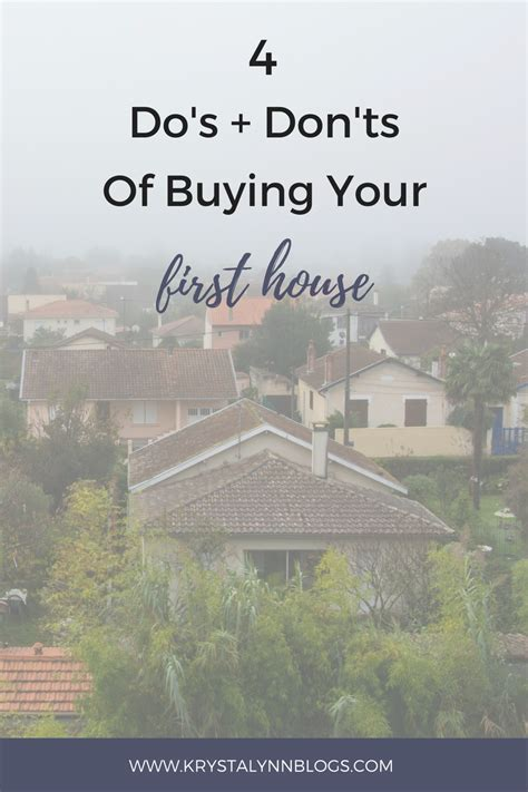 what to do when buying your first house 4 do s don ts when buying your first house