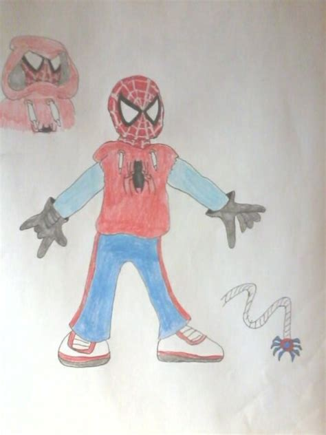 spider man homemade costume design  phantomgeneticopera