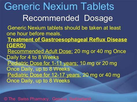 generic nexium tablets  gerd treatment