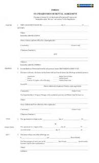 Printable Lease Agreement Printable Residential Free House Lease Agreement Free