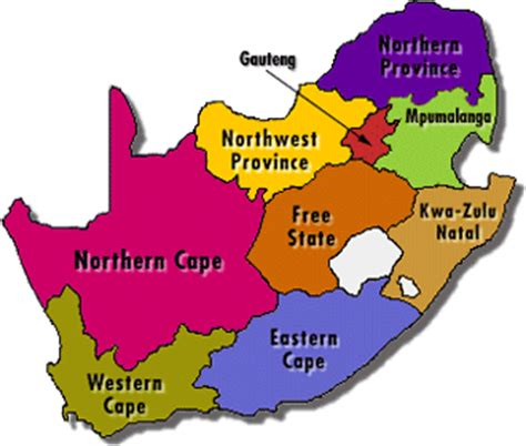 south africa map with 9 provinces south africa rock climbing routes wiki