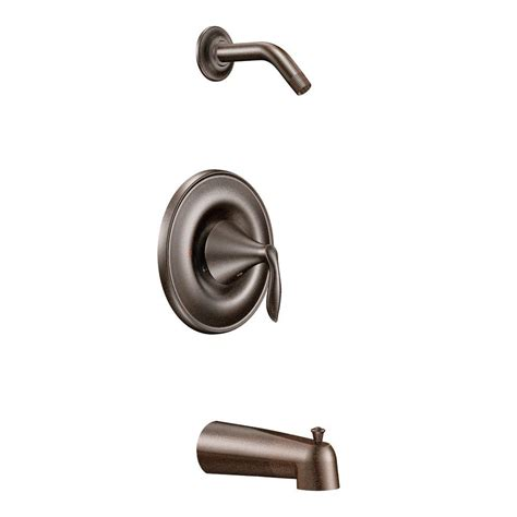 Moen Rubbed Bronze Shower by Moen 1 Handle Positemp Tub And Shower Trim Kit In