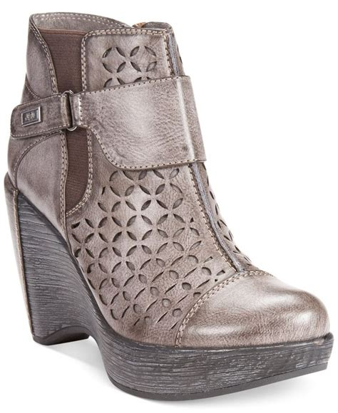 shoes at macys jbu s wedge booties shoes macy s shoes