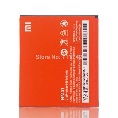 Baterai Xiaomi 1s Bm41 Original 100 original 2000 2050mah bm41 battery for xiaomi hongmi rice 1s 4 7 battery mobile phone